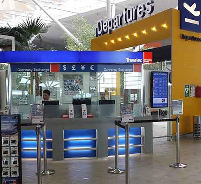 Currency Exchange Brisbane Int'l Airport Departures, Duty