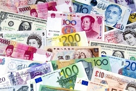 Over 45 currencies