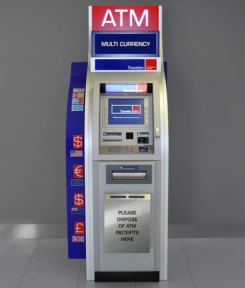 Foreign Currency ATMs | Travelex